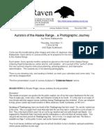 November 2004 Raven Newsletter Juneau Audubon Society