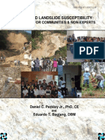 Rain-Induced Landslide Susceptibility A Guidebook for Communities and Non-Experts by Daniel C. Peckley Jr., PhD, CE and Eduardo T. Bagtang, DBM