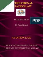 INTERNATIONAL AVIATION LAW