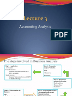 Lecture 3 - Accounting Analysis(1)