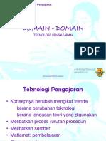 100716579 Teknologi Pendidikan Topik 1 Domain Teknologi Maklumat 1