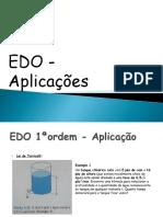 EDO - Aplicações Revisado