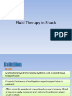 Fluid Therapy in Shock