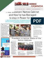 Africa World News Uganda 2nd Edition 7th to 14th July 2016