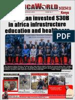 Africaworld News Kenya 7th Issue 4th To17th September 2016 Journal