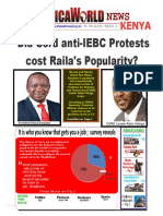AFRICA WORLD NEWS 7th July to 14th July Bulletin 2016