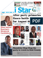 GUSII STAR NEWSPAPER