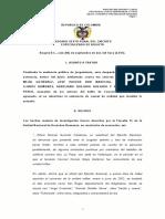 Condena Paramilitarismo Coronel Mejia