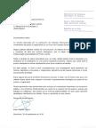 Carta de Capella al president del CGPJ