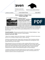 March 2006 Raven Newsletter Juneau Audubon Society