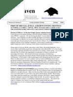 October 2006 Raven Newsletter Juneau Audubon Society