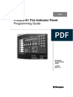 simplex 4100es s1 fire indicator panel relay input output