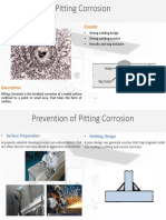 Pitting Corrosion and Prevention