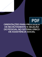 Orientações para processos de recrutamento e seleção de pessoal no sistema único de assistência social.pdf