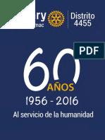 60 años de trayectoria de Rotary Club El Rímac