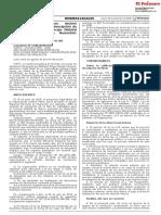 Revocan resolución que declaró improcedente solicitud de inscripción de lista de candidatos al Concejo Distrital de Surco provincia de Huarochirí departamento de Lima