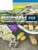 Beginners Guide to Anxiety Supplements