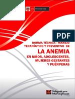 NORMA  N°134 DE SUPLEMENTACION