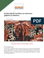 #Caros Amigos - out-nov 2017 - Da Revolução Soviética ao retrocesso golpista na América.pdf
