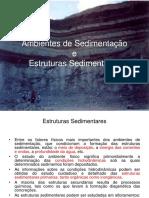 43358568 Ambientes de Sedimentacao e Estruturas Sedimentares