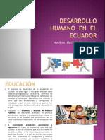 Desarrollo Humano en El Ecuador