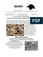 April 2009 Raven Newsletter Juneau Audubon Society