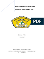 Rapid Assesment Prosedures