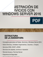 Administracion Windows Server 2016