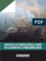 Cartilla Impactos de las Termoeléctricas a Carbón en la Salud de la Población Local