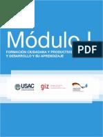 MODULO I Formación Ciudadana y Productividad y Desarrollo PADEP