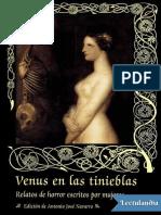 Venus en Las Tinieblas - Varios Autores