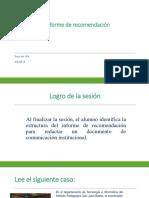 6A_N04I_El Informe de Recomendación (PPT) 2018-3