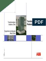 Transformador Pedestal