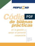 Código de Buenas Practicas Con Trabajadores Humanitarios