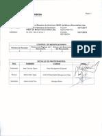 Instructivo Glosario de Terminos Hsec de Minera Escondida Ltda.