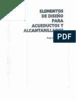 343429446 Elementos de Diseno Para Acueductos y Alcantarillados Ricardo Alfredo Lopez Cualla