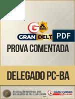 DPC BA - Prova Comentada