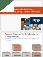 Sistema de Distribuição de Medicamentos Para Pacientes Internados