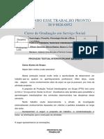 Serviço Social 1-2-  TENHO PRONTO 38 9 9731 1685
