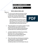 CSDC Song Book-Hymns 2018