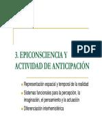 2009 3 Epiconsciencia y Actividad de Anticipacion