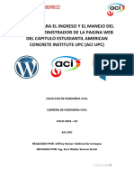 Manual Wordpress Aci Upc - 2018