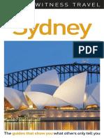 Sydney DK Eyewitness Travel Guides Dorling Kindersley 2017