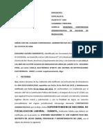 Edelmira Barrientos.demanda Contenciosa