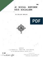02-Catholic Social Reform Versus Socialism