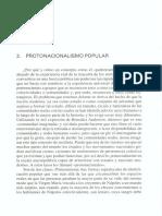 HOBSBAWM, ERIC-Protonacionalismo Popular