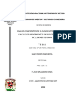 Análisis Comparativo de Algunos Métodos Usuales de Cálculo de Asentamientos en Suelos Blandos Con Inclusiones de Grava