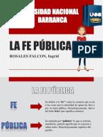 La Fe Pública Diapositivas Pptx