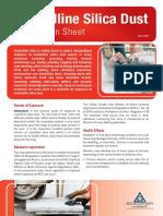 Silica Dust Information Sheet