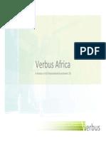 Verbus Africa Introduction
